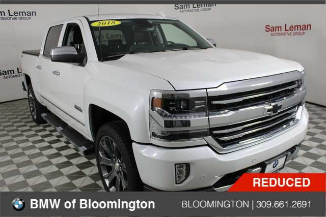 Pre Owned 2018 Chevrolet Silverado 1500 High Country