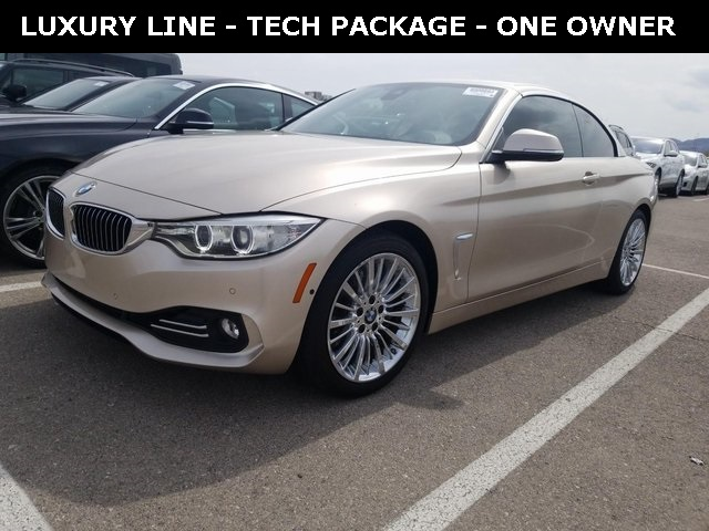 Pre-Owned 2015 BMW 4 Series 435i