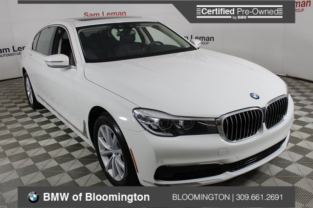 Certified Pre-Owned 2019 BMW 7 Series 740i