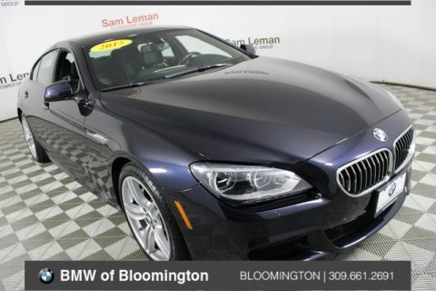 Pre-Owned 2015 BMW 6 Series 640i Gran Coupe